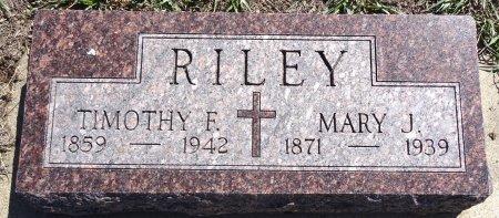 RILEY, MARY - Jones County, South Dakota | MARY RILEY - South Dakota Gravestone Photos