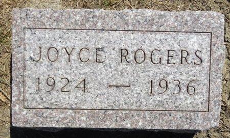 ROGERS, JOYCE - Jones County, South Dakota   JOYCE ROGERS - South Dakota Gravestone Photos