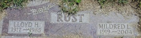 RUST, LLOYD - Jones County, South Dakota | LLOYD RUST - South Dakota Gravestone Photos