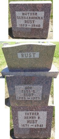 RUST, PAUL - Jones County, South Dakota | PAUL RUST - South Dakota Gravestone Photos