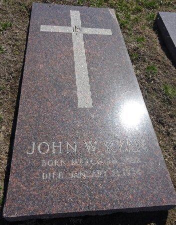 RYAN, JOHN - Jones County, South Dakota   JOHN RYAN - South Dakota Gravestone Photos