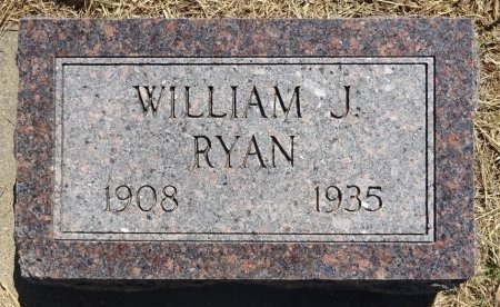 RYAN, WILLIAM - Jones County, South Dakota | WILLIAM RYAN - South Dakota Gravestone Photos