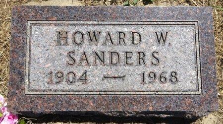 SANDERS, HOWARD - Jones County, South Dakota | HOWARD SANDERS - South Dakota Gravestone Photos