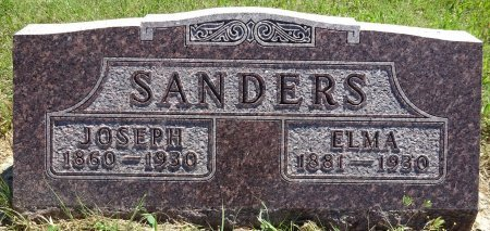 SANDERS, ELMA - Jones County, South Dakota | ELMA SANDERS - South Dakota Gravestone Photos