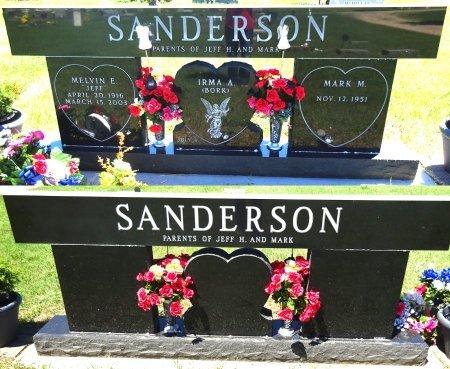 BORK SANDERSON, IRMA - Jones County, South Dakota | IRMA BORK SANDERSON - South Dakota Gravestone Photos