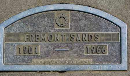 SANDS, FREMONT - Jones County, South Dakota | FREMONT SANDS - South Dakota Gravestone Photos