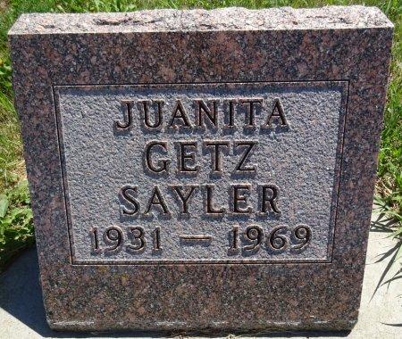 SAYLER, JUANITA - Jones County, South Dakota | JUANITA SAYLER - South Dakota Gravestone Photos