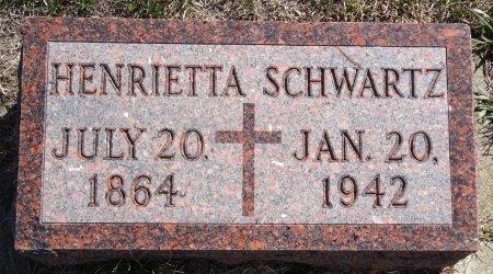 SCHWARTZ, HENRIETTA - Jones County, South Dakota | HENRIETTA SCHWARTZ - South Dakota Gravestone Photos