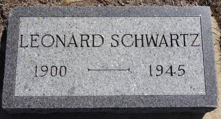 SCHWARTZ, LEONARD - Jones County, South Dakota | LEONARD SCHWARTZ - South Dakota Gravestone Photos