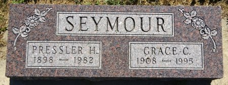 SEYMOUR, PRESSLER - Jones County, South Dakota | PRESSLER SEYMOUR - South Dakota Gravestone Photos