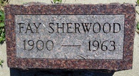 SHERWOOD, FAY - Jones County, South Dakota | FAY SHERWOOD - South Dakota Gravestone Photos