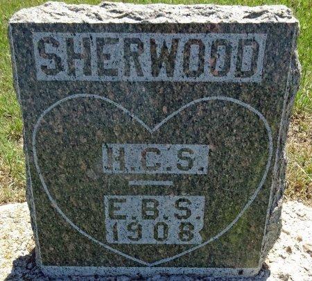 SHERWOOD, E.B.S - Jones County, South Dakota | E.B.S SHERWOOD - South Dakota Gravestone Photos