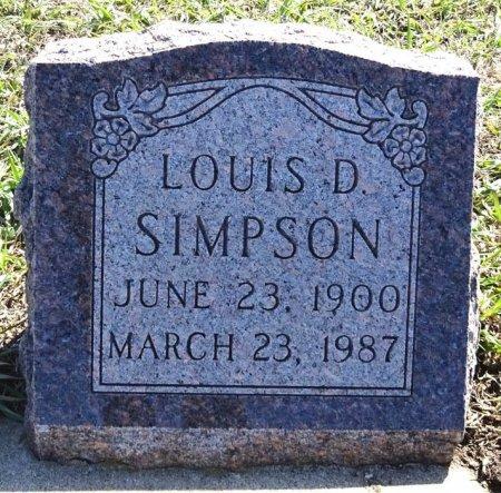 SIMPSON, LOUIS - Jones County, South Dakota | LOUIS SIMPSON - South Dakota Gravestone Photos