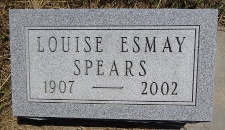 SPEARS, LOUISE - Jones County, South Dakota   LOUISE SPEARS - South Dakota Gravestone Photos