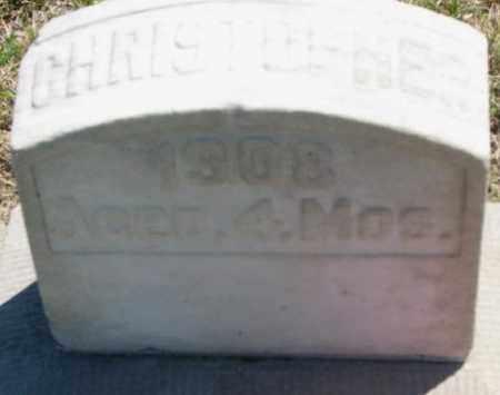 STOTTS, CHRISTOPHER - Jones County, South Dakota   CHRISTOPHER STOTTS - South Dakota Gravestone Photos