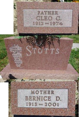 STOTTS, CLEO - Jones County, South Dakota | CLEO STOTTS - South Dakota Gravestone Photos
