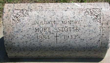 STOTTS, MORT - Jones County, South Dakota | MORT STOTTS - South Dakota Gravestone Photos