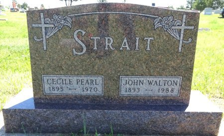 STRAIT, JOHN - Jones County, South Dakota | JOHN STRAIT - South Dakota Gravestone Photos