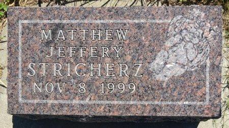 STRICHERZ, MATTHEW - Jones County, South Dakota | MATTHEW STRICHERZ - South Dakota Gravestone Photos