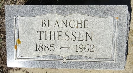 THIESSEN, BLANCHE - Jones County, South Dakota | BLANCHE THIESSEN - South Dakota Gravestone Photos