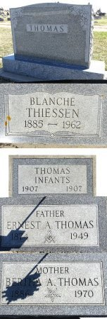 THOMAS, BERTHA - Jones County, South Dakota | BERTHA THOMAS - South Dakota Gravestone Photos