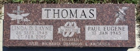 THOMAS, PAUL - Jones County, South Dakota | PAUL THOMAS - South Dakota Gravestone Photos