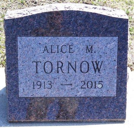 TORNOW, ALICE - Jones County, South Dakota   ALICE TORNOW - South Dakota Gravestone Photos