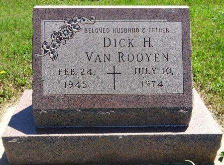 VAN ROOYEN, DICK - Jones County, South Dakota | DICK VAN ROOYEN - South Dakota Gravestone Photos