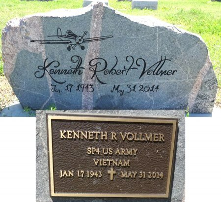 VOLLMER, KENNETH - Jones County, South Dakota | KENNETH VOLLMER - South Dakota Gravestone Photos