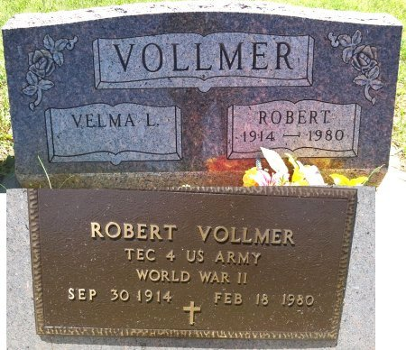VOLLMER, ROBERT - Jones County, South Dakota | ROBERT VOLLMER - South Dakota Gravestone Photos