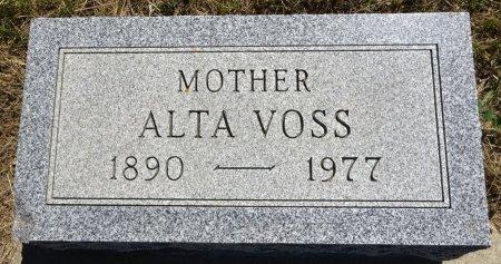 VOSS, ALTA - Jones County, South Dakota   ALTA VOSS - South Dakota Gravestone Photos