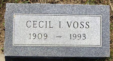 VOSS, CECIL - Jones County, South Dakota | CECIL VOSS - South Dakota Gravestone Photos