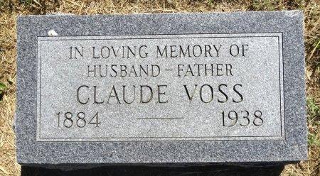 VOSS, CLAUDE - Jones County, South Dakota | CLAUDE VOSS - South Dakota Gravestone Photos