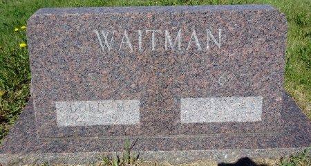 WAITMAN, DORIS - Jones County, South Dakota | DORIS WAITMAN - South Dakota Gravestone Photos