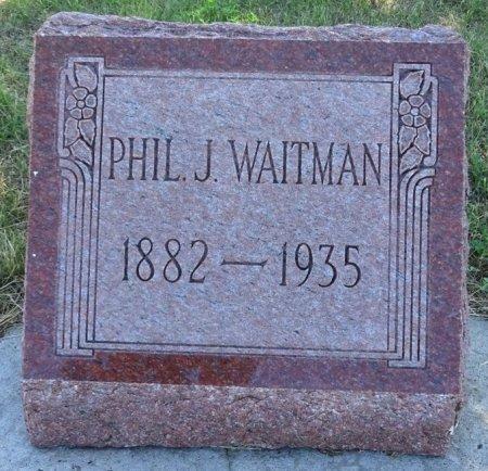WAITMAN, PHIL - Jones County, South Dakota | PHIL WAITMAN - South Dakota Gravestone Photos