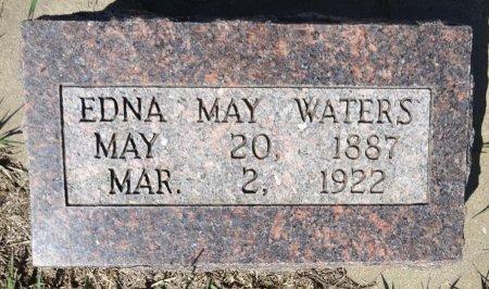 WATERS, EDNA MAY - Jones County, South Dakota | EDNA MAY WATERS - South Dakota Gravestone Photos