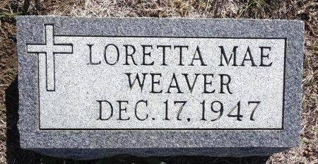 WEAVER, LORETTA - Jones County, South Dakota | LORETTA WEAVER - South Dakota Gravestone Photos