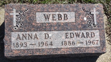 WEBB, EDWARD - Jones County, South Dakota | EDWARD WEBB - South Dakota Gravestone Photos