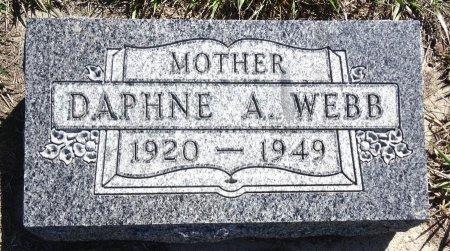 WEBB, DAPHNE - Jones County, South Dakota   DAPHNE WEBB - South Dakota Gravestone Photos