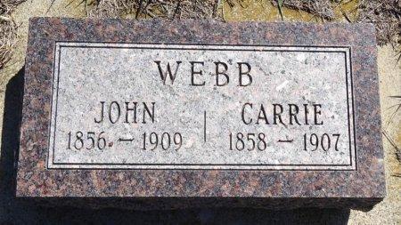 WEBB, JOHN - Jones County, South Dakota | JOHN WEBB - South Dakota Gravestone Photos