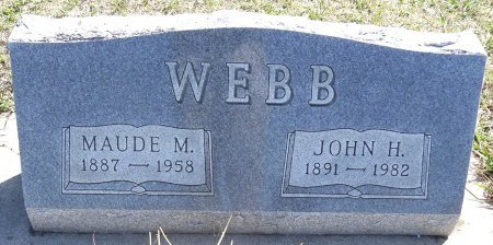 WEBB, JOHN H. - Jones County, South Dakota | JOHN H. WEBB - South Dakota Gravestone Photos