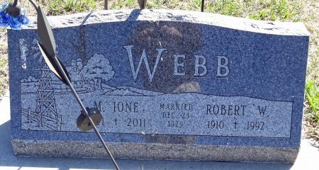 WEBB, M. IONE - Jones County, South Dakota | M. IONE WEBB - South Dakota Gravestone Photos
