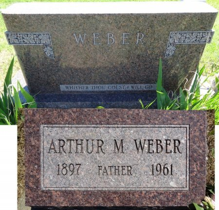 WEBER, ARTHUR - Jones County, South Dakota | ARTHUR WEBER - South Dakota Gravestone Photos