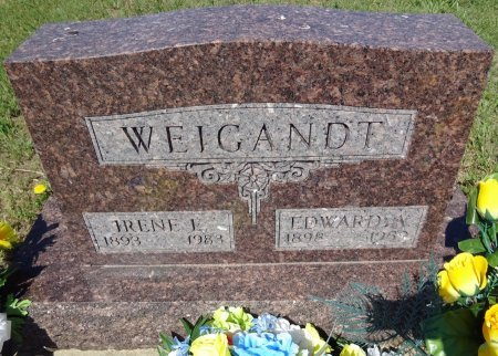 WEIGANDT, IRENE - Jones County, South Dakota | IRENE WEIGANDT - South Dakota Gravestone Photos