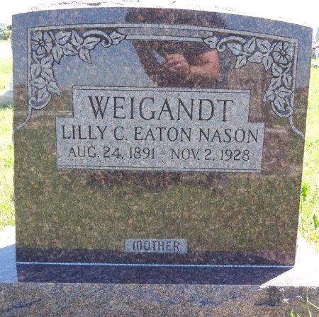 WEIGANDT, LILLY - Jones County, South Dakota | LILLY WEIGANDT - South Dakota Gravestone Photos