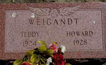 WEIGANDT, TEDDY - Jones County, South Dakota | TEDDY WEIGANDT - South Dakota Gravestone Photos