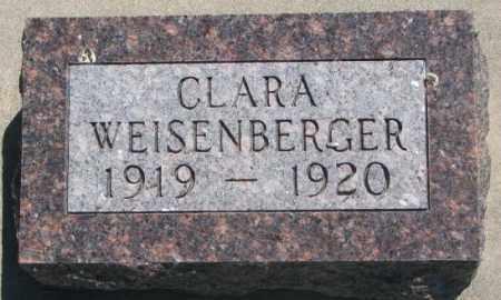WEISENBERGER, CLARA - Jones County, South Dakota | CLARA WEISENBERGER - South Dakota Gravestone Photos