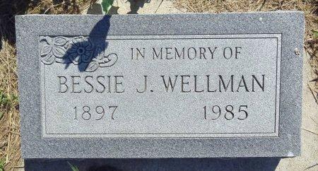 WELLMAN, BESSIE - Jones County, South Dakota | BESSIE WELLMAN - South Dakota Gravestone Photos