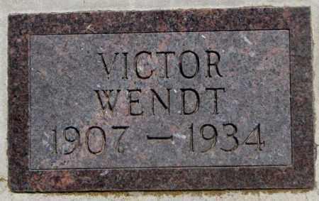 WENDT, VICTOR - Jones County, South Dakota | VICTOR WENDT - South Dakota Gravestone Photos