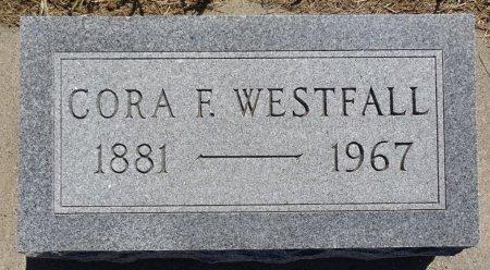 WESTFALL, CORA - Jones County, South Dakota | CORA WESTFALL - South Dakota Gravestone Photos